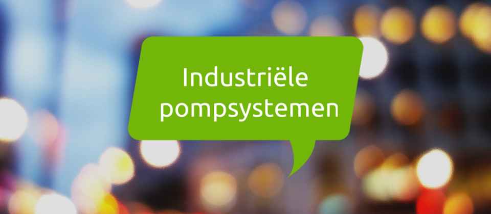 Industriele pompsystemen